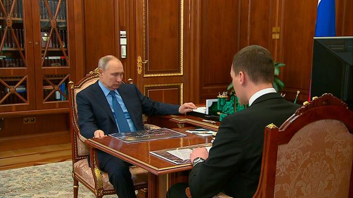 Путин поблагодарил работников оборонных предприятий Хабаровского края