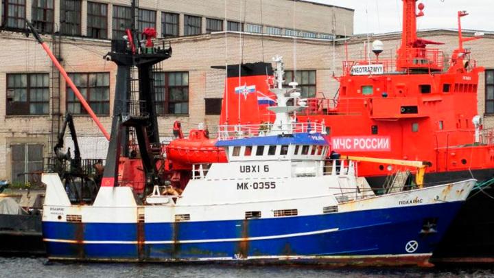 Polaris доставлен в порт Мурманска