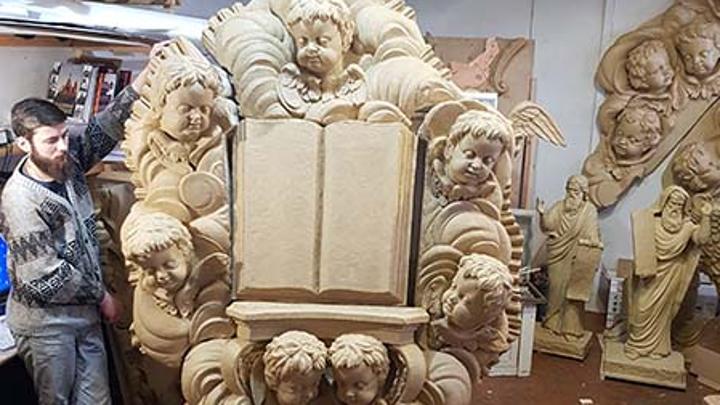 Шуйские мастера возвращают к жизни убранство знаменитого храма Санкт-Петербурга