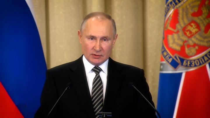 """Товарищи офицеры!"". Что остановило Путина на коллегии ФСБ"