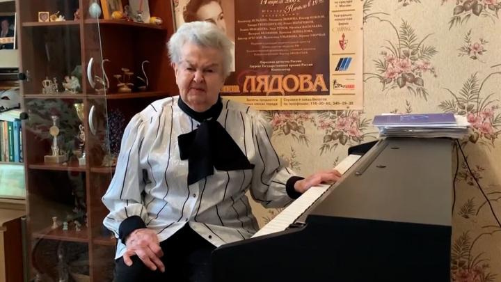 Людмила Лядова снова может дышать без кислородной маски