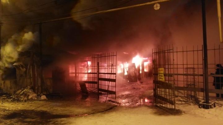 В прокуратуре прокомментировали пожар на казанском рынке