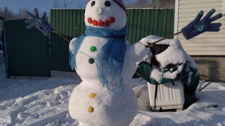 Жители Самарской области креативно попрощались с зимой