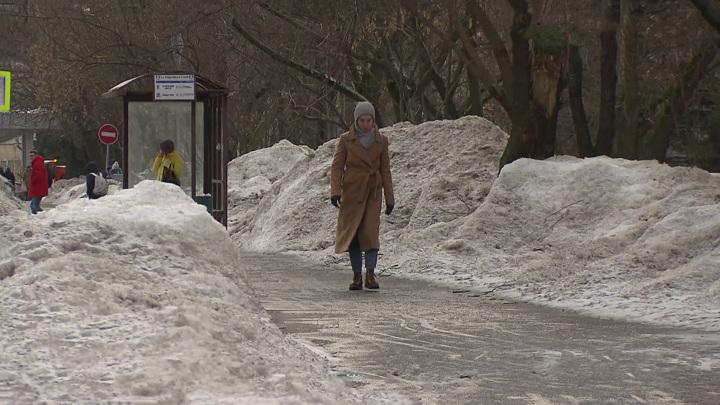 Мокрый снег и сильный гололед: в Москве объявлен желтый уровень погодной опасности