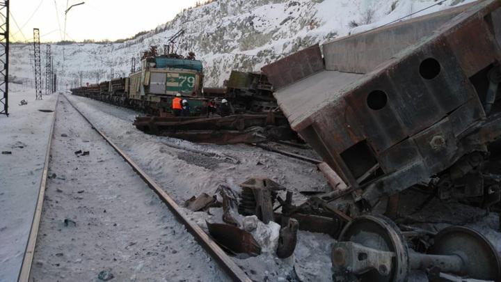 В Асбесте столкнулись два железнодорожных состава