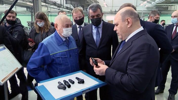 Мишустин посетил будущий агропарк на Алтае