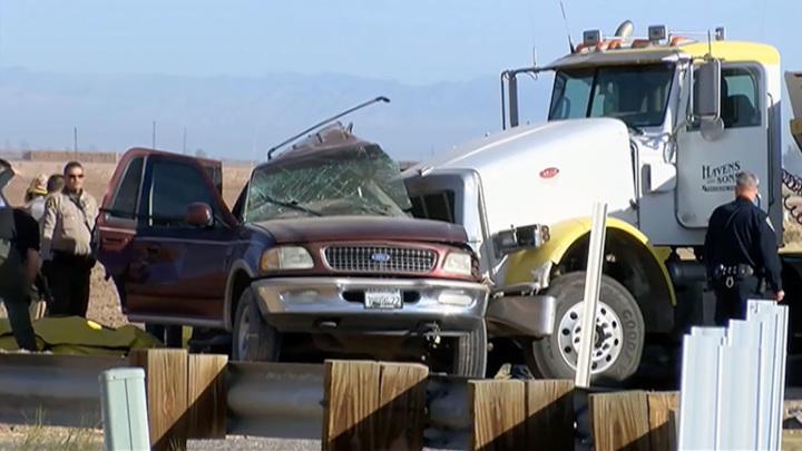 Авария в Калифорнии унесла жизни 13 человек