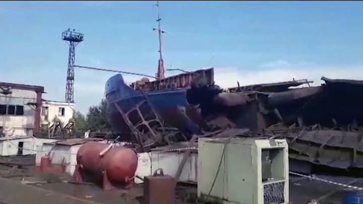 В Волжском оглашен приговор по делу о взрыве газа на барже
