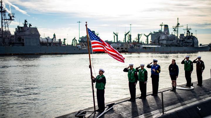 Подлодка США была готова топить корабли РФ у берегов Сирии