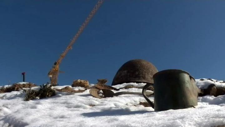 В Севастополе строители разрушают воинские захоронения
