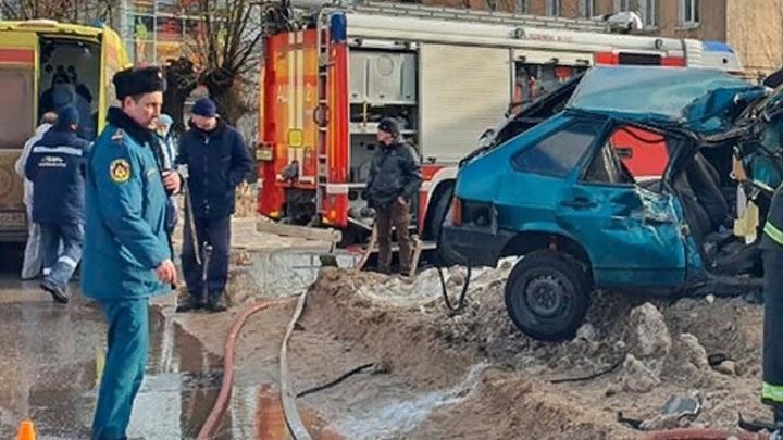 15-летний водитель спровоцировал ДТП в Твери, его пассажир в коме