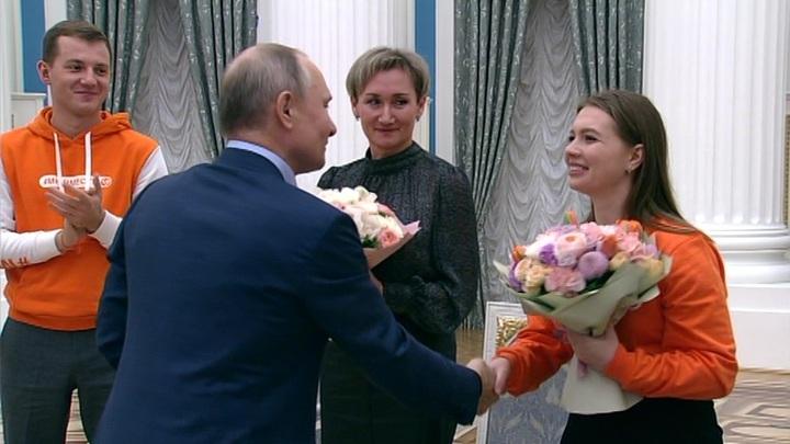Путин: женщины дают мужчинам проявить себя с лучшей стороны