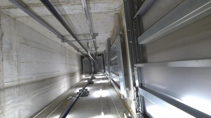 Ребенок погиб, упав в шахту лифта с 18 этажа