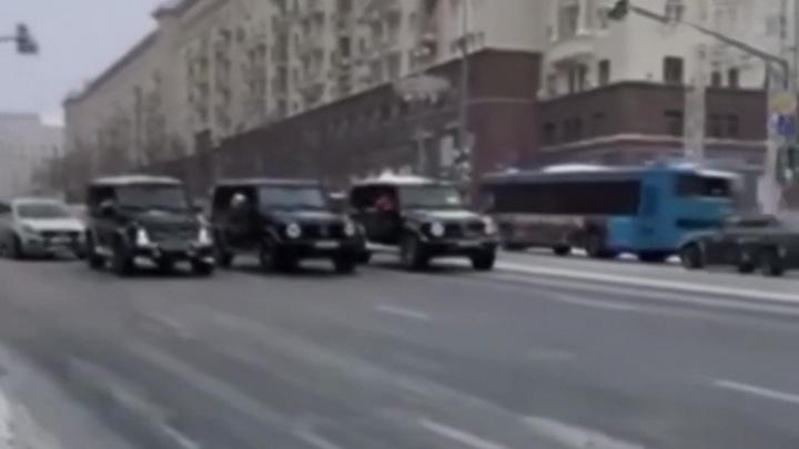 """Водители перекрывших Тверскую """"Гелендвагенов"""" заплатят 5 тысяч"""