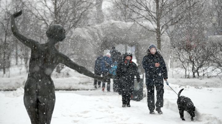 В Москве и области погода потенциально опасна
