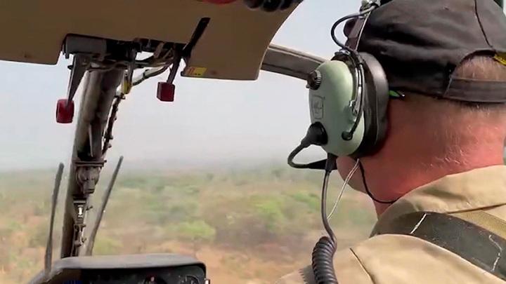 Дипломаты в ЦАР проверяют сообщения об аварии вертолета с россиянами