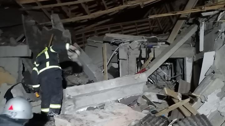 Взрыв газа в Серпухове: людей под завалами нет