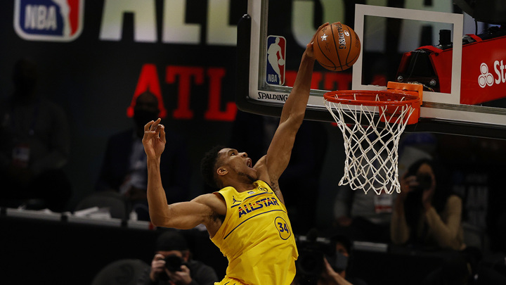 Матч Всех звезд НБА. Команда ЛеБрона Джеймса победила