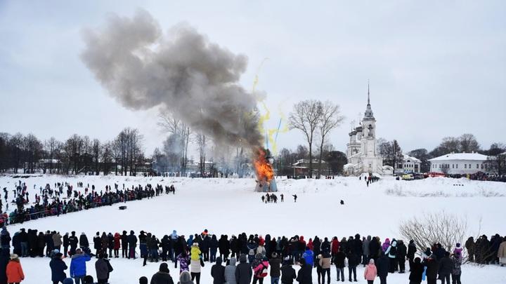 Власти Вологды отказались от массового празднования Масленицы