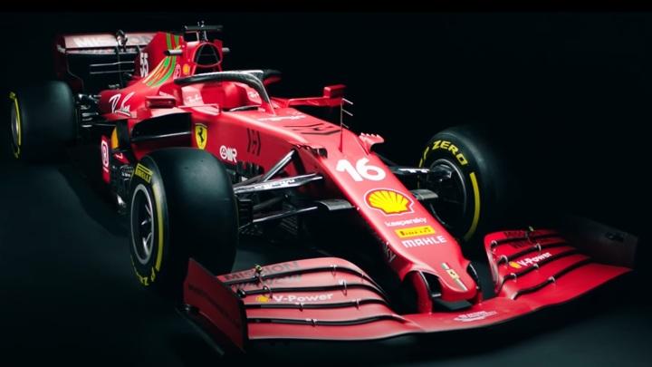 """Ferrari презентовала болид на новый сезон """"Формулы-1"""""""