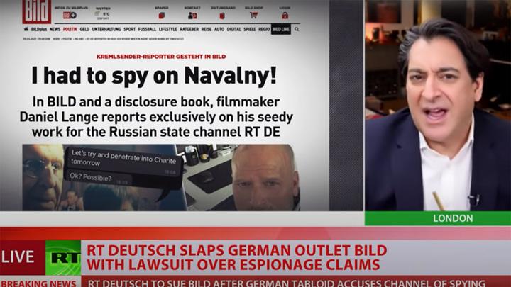 В Германии Russia Today готовит иск после абсурдных обвинений в шпионаже