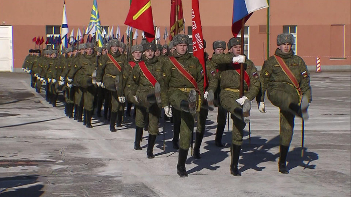 На Красной площади состоится пешая тренировка Парада Победы