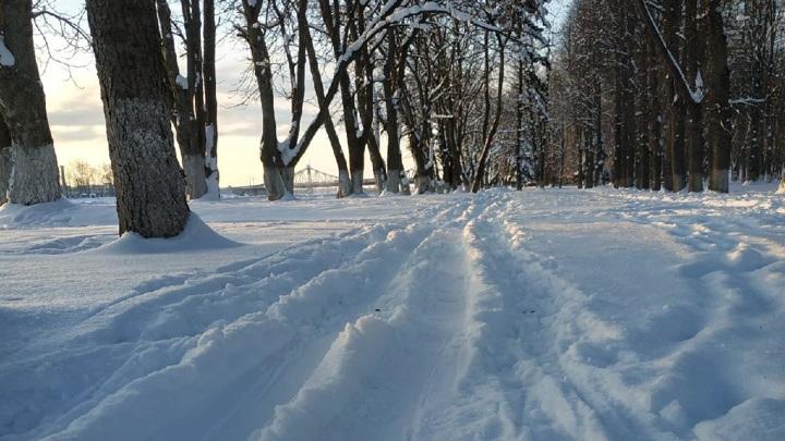 Жители тверской деревни оказались в снежной блокаде