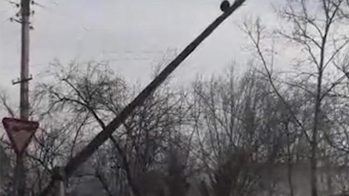 В Забайкалье 54 населенных пункта остались без света из-за ветра