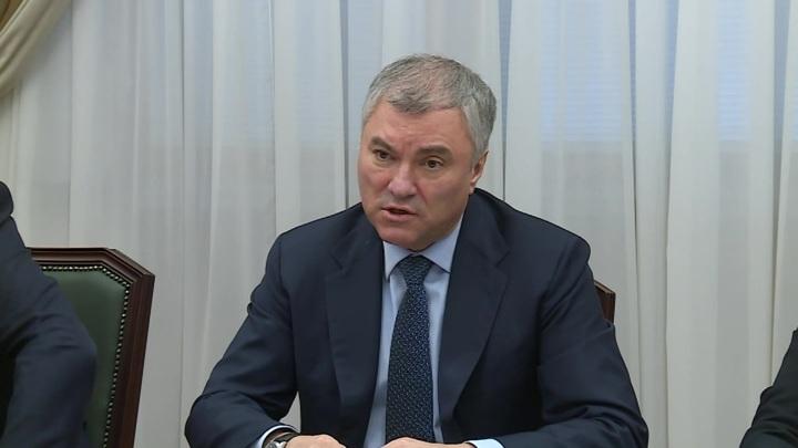 Володин прокомментировал неуважение других стран к памяти о войне