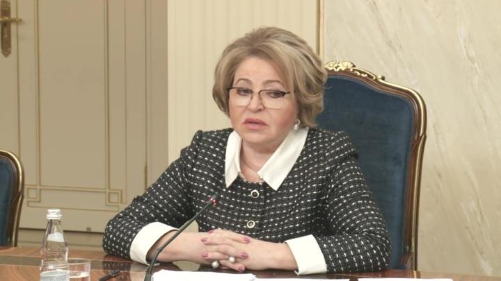 Матвиенко: Россия готова к честному открытому диалогу с Советом Европы