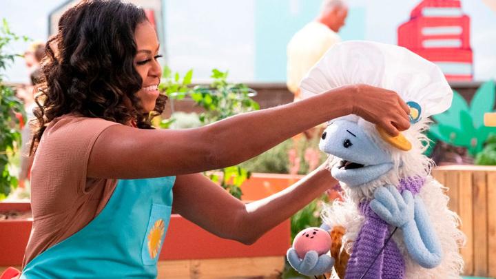 Мишель Обама запустила телешоу для детей