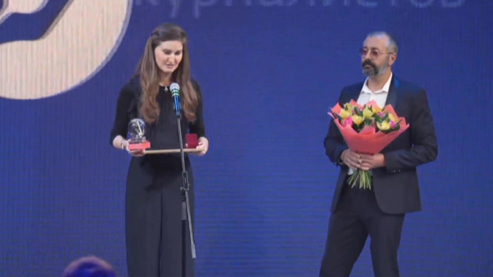 """Журналистка ВГТРК награждена премией """"Золотое перо России"""""""