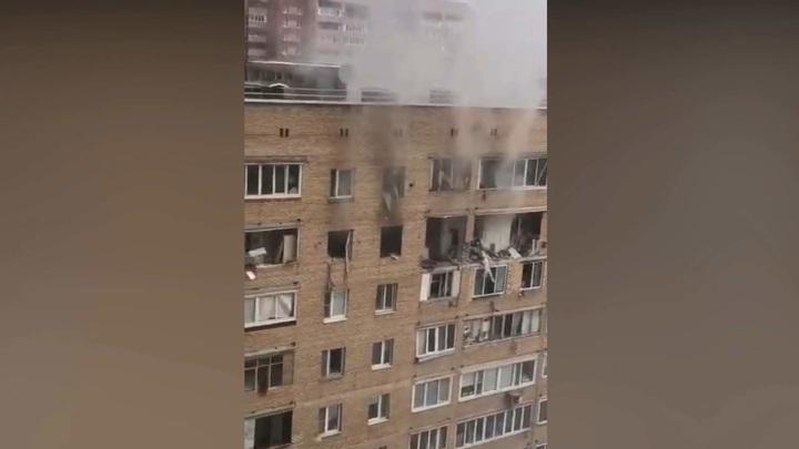 Тело ребенка обнаружили в разрушенной взрывом квартире в Химках