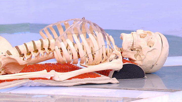 """Кадр из программы """"О самом главном"""". Мясников объяснил, какие болезни скрываются за диагнозом остеохондроз"""