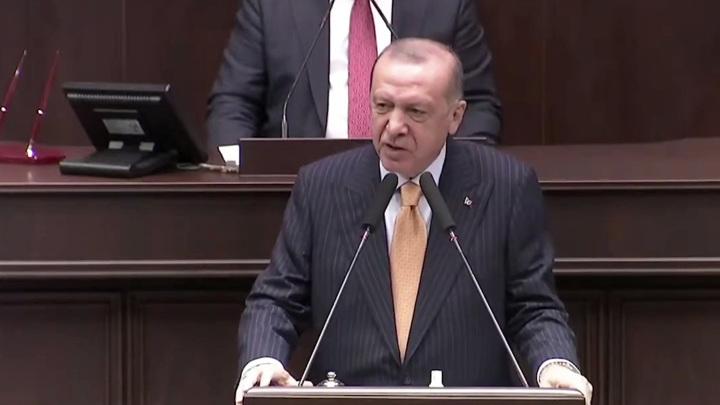 Эрдоган проклял Австрию за израильский флаг
