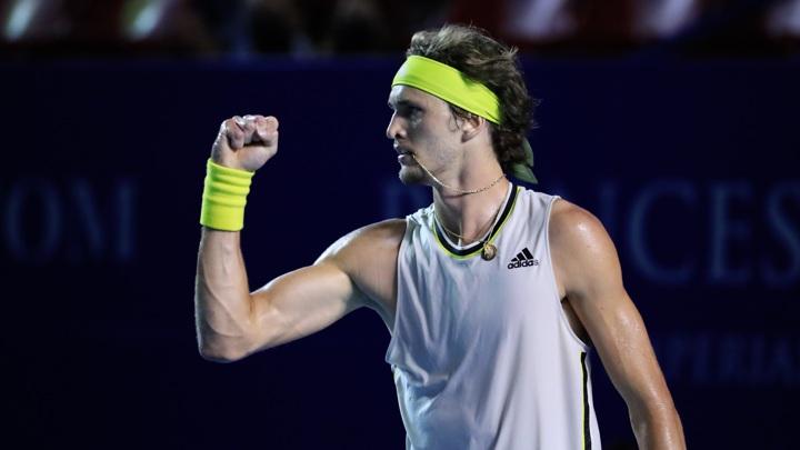 Зверев вышел в 1/8 финала турнира в Монте-Карло, где сыграет с Гоффеном