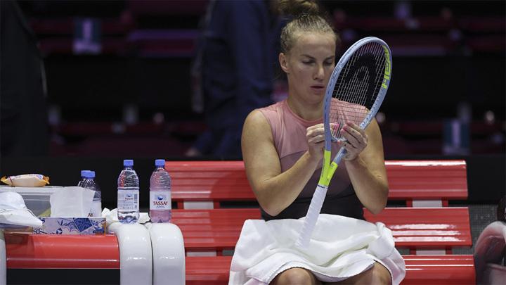 Кузнецова зачехлила ракетку на турнире в Истбурне