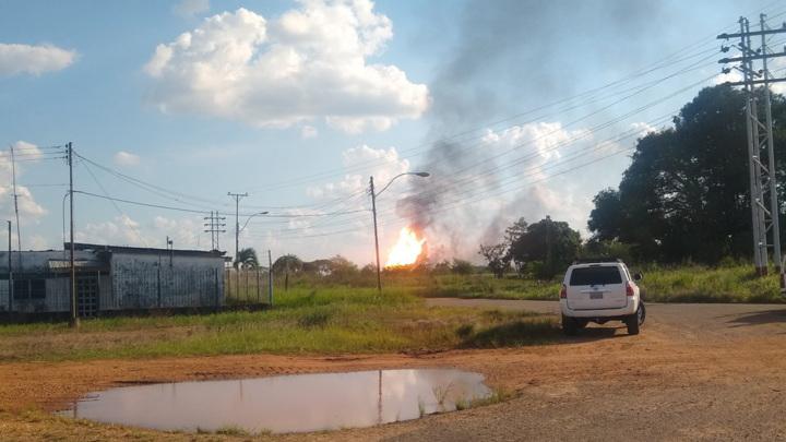 На газовом заводе PDVSA в Венесуэле произошел теракт