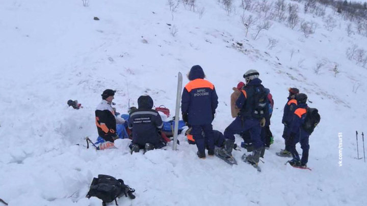 Один человек погиб в результате схода лавины в Якутии