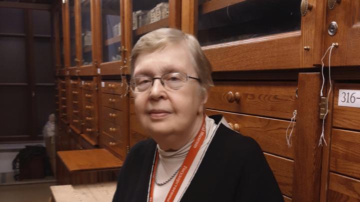 Ольга Георгиевна Гордеева, старший научный сотрудник и хранитель ГИМ