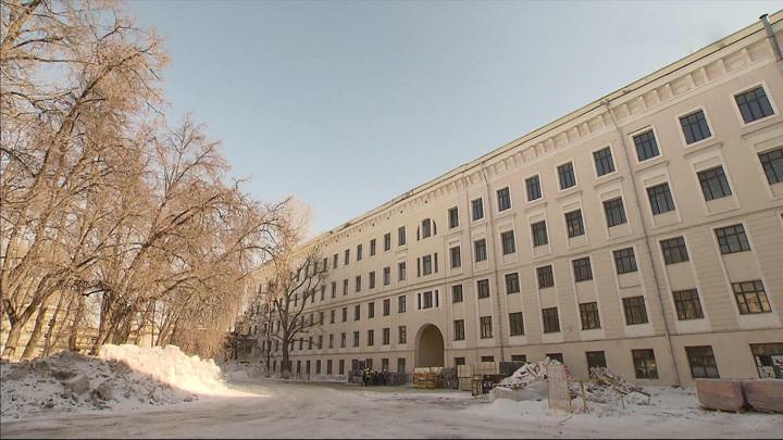 В Москве началась реставрация Императорского воспитательного дома