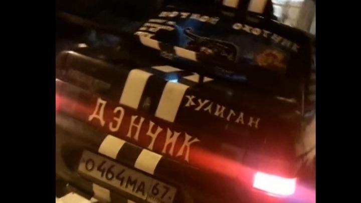 Смоленский таксист сделал оригинальный тюнинг своего авто
