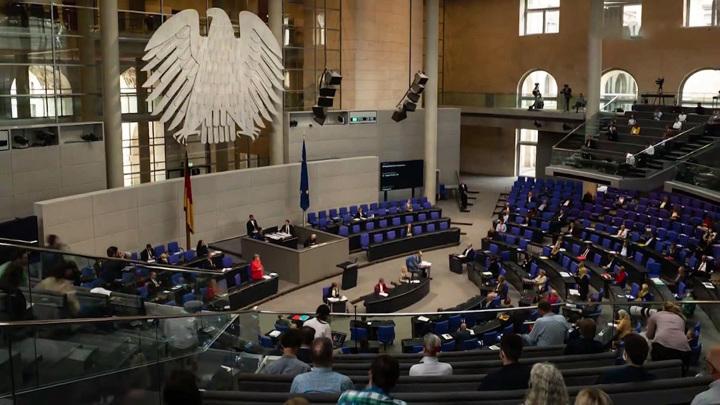 В бундестаге после выборов будет представлено шесть фракций