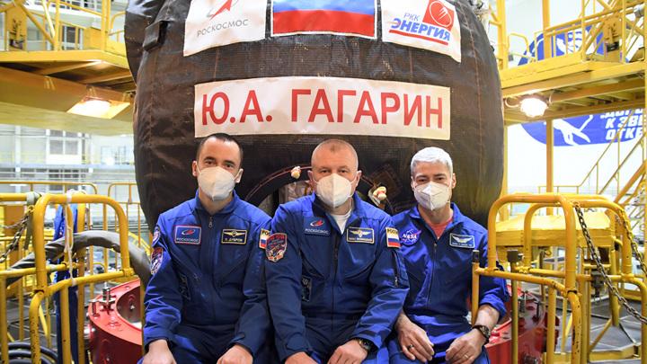 Обнародованы фото космического корабля, названного в честь Гагарина