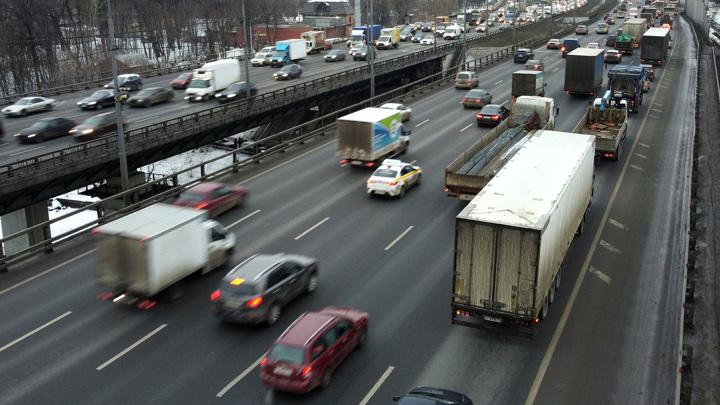 6транспортных средств столкнулись на 14-м километре МКАД