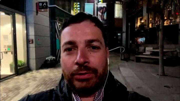 """Кадр из программы """"60 минут"""". Алексей Богдановский"""