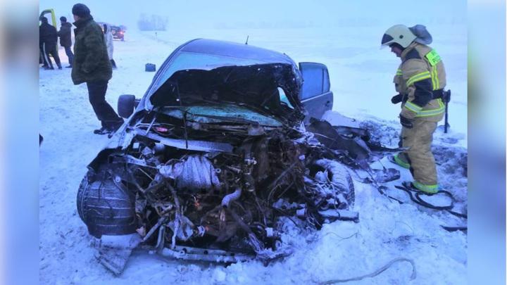 На трассе под Новосибирском произошла смертельная авария