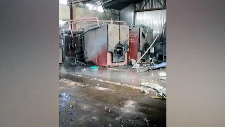 В Красноярском крае при взрыве парового котла пострадали три человека