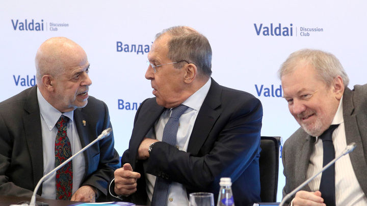 """Клуб """"Валдай"""": Сергей Лавров обозначил политические и экономические приоритеты на Ближнем Востоке"""