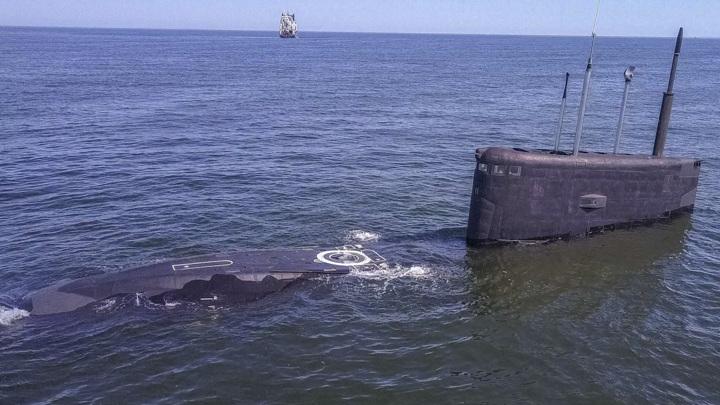 Российские подлодки устроили дуэль на торпедах